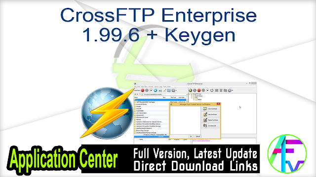 CrossFTP Enterprise 1.99.6 + Keygen