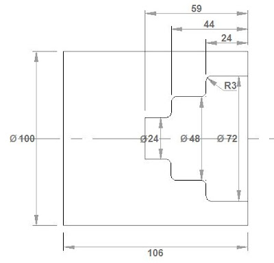 CNC Programming Examples - Pattern Drilling