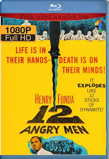 12 Angry Men (1957) [1080p BRrip] [Latino-Inglés] [LaPipiotaHD]