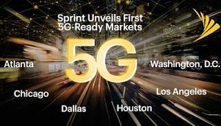 Persiapan jaringan 5G yang dilakukan Sprint