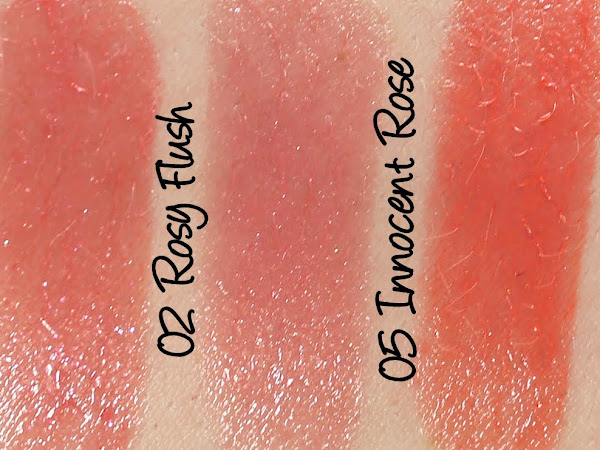 ZA Plumper Lips, Pure Shine Lips and Plumping Lip Gloss Swatches & Review