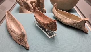 Cyprian Bronze Age boat models