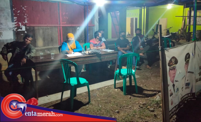 Cegah Penyebaran Covid 19, Kampung Argomulyo Dirikan Posko PPKMD