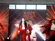 Maja Salvador officially launched as new Jollibee endorser of Super Meals