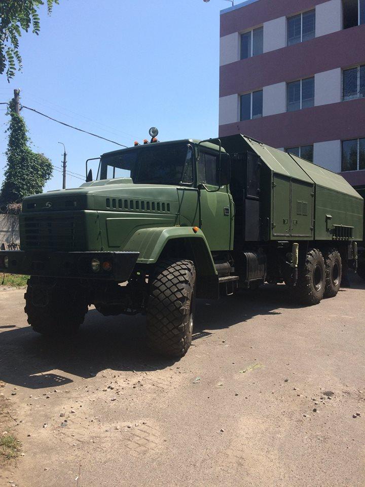 ЗСУ отримали РЛС «Малахіт» від «Укрспецтехніки»