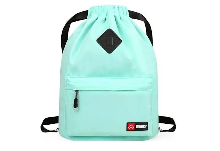 WANDF Drawstring Backpack String Bag review