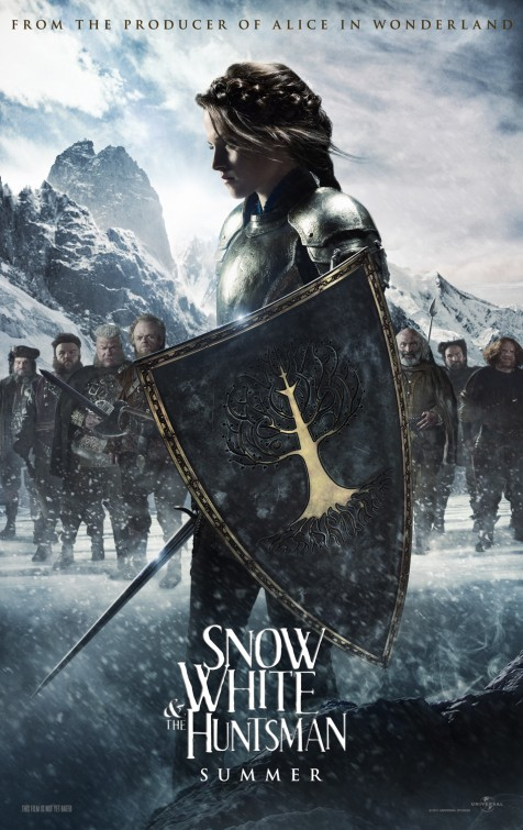 Snow White Huntsman poster