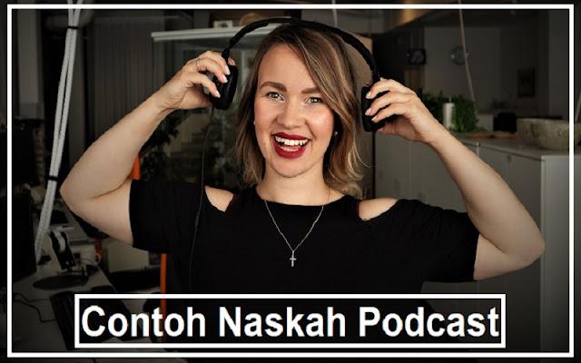 contoh dan tips buat naskah podcast