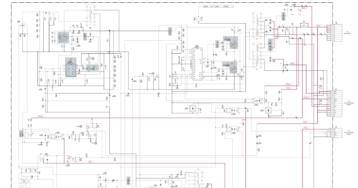 Electro Help  Klvs26a10  Klvs32a10  U2013 Sony Lcd Tv Smps Board Schematic  Led Blinking Codes  U2013 Wax