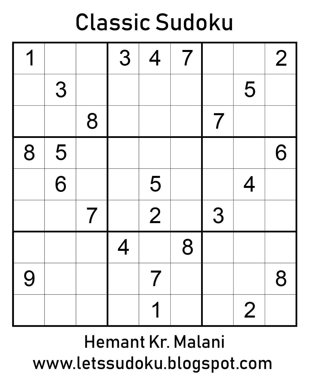 Let's Sudoku: July 2019