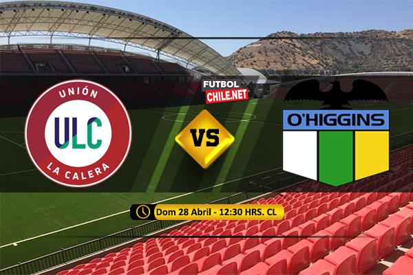 Mira Unión La Calera vs O'Higgins en vivo y online por la Primera Division