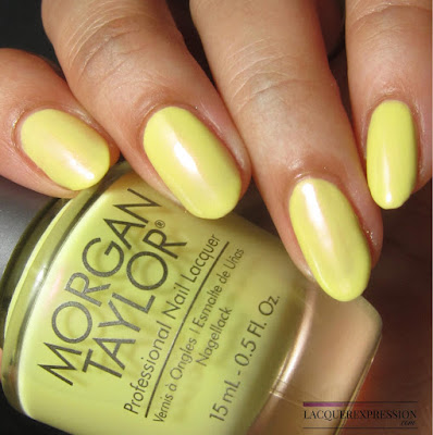 nail polish swatch of Days in the Sun from Morgan Taylor