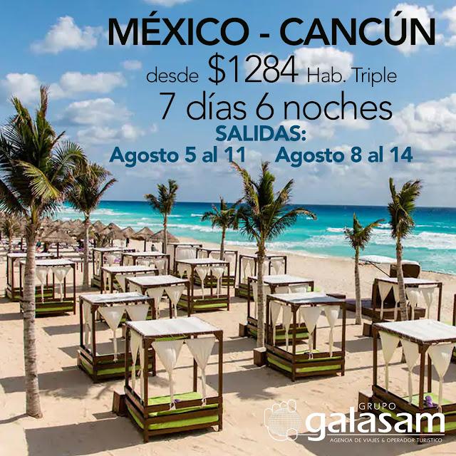 MÉXICO + CANCÚN TARIFA PREVENTA HASTA EL 31 MAR