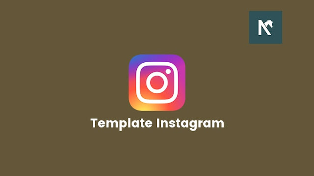 Template Anime Instagram