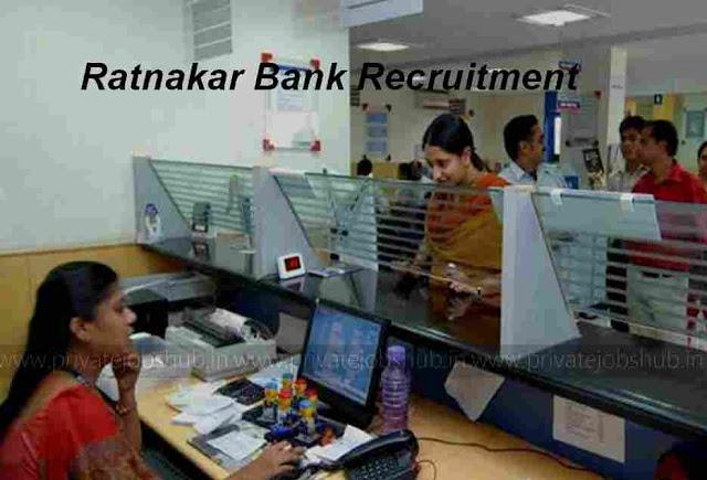 Ratnakar Bank Recruitment
