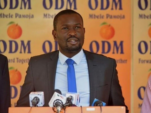 ODM secretary-general Edwin Sifuna photo
