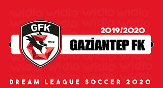 Gaziantep FK 19/20 - DLS2020 Dream League Soccer 2020 Forma Kits ve logo