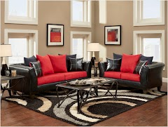 Black and Red Living Room Ideas