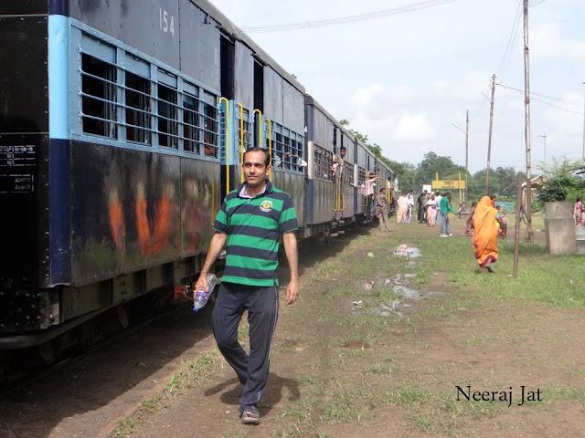 जामनेर-पाचोरा नैरो गेज ट्रेन यात्रा