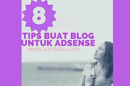 Tips Buat Blog Untuk Adsense 2019