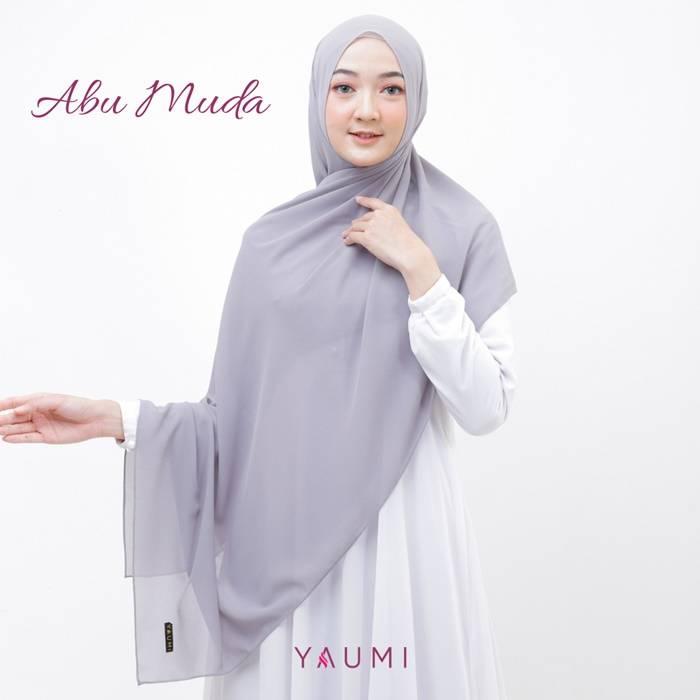 Yaumi Hijab Pashmina Abu Muda