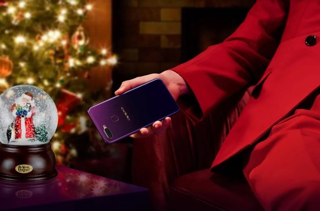 Level Up the Holiday Celebration with the OPPO F9 in Starry Purple