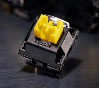 Razer Yellow mechanical switch.