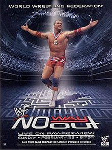 WWE / WWF No Way Out 2001 - Event Poster