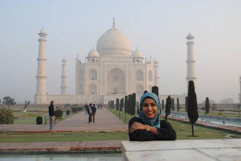 me at Taj