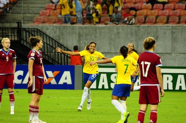 Programação da Seleção Brasileira Feminina em Manaus é definida e credenciamento à imprensa encerra neste domingo, dia 2