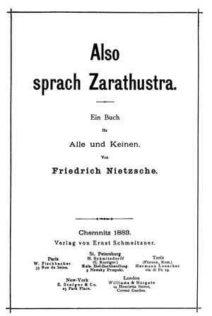 Así habló Zaratrustra