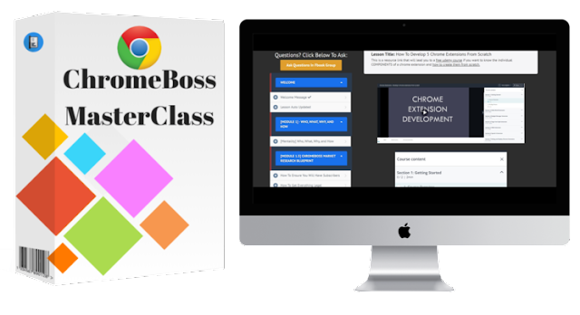 [GIVEAWAY] ChromeBoss MasterClass [Create Chrome Extension & Make Money]