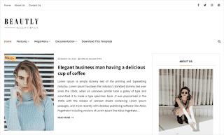 Beautly v2.0 - Responsive Fashion Blogger Template