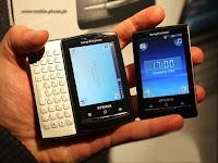 The Sony Ericsson Xperia X10 Mini Pro With QWERTY Keyboard
