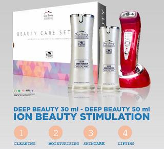 Deep Beauty Care Set Hpai 081230855989 Kosmetik Solusi Kulit Wajah Berminyak dan Hitam