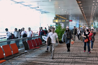 Source: CAG. A view of the airside section of Singapore's Changi Airport.