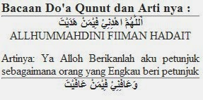 Bacaan Doa Qunut Arab Latin Dan Artinya Arena Berbagicom