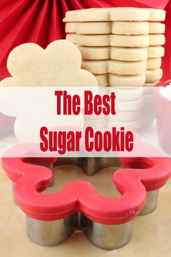 The Best Sugar Cookie