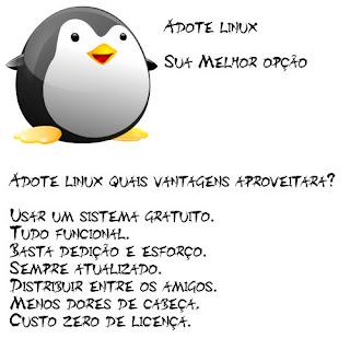 Adote Sistemas Linux sua melhor opção