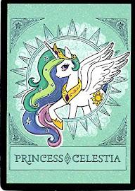 My Little Pony Princess Celestia Series 4 Trading Card