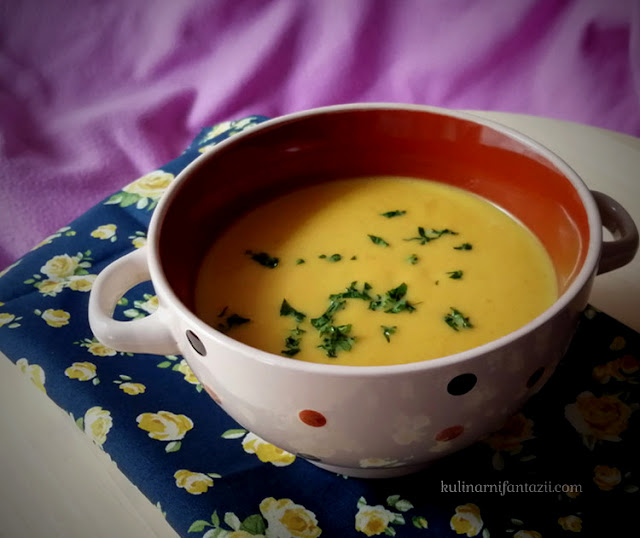 Крем супа от моркови с джинджифил