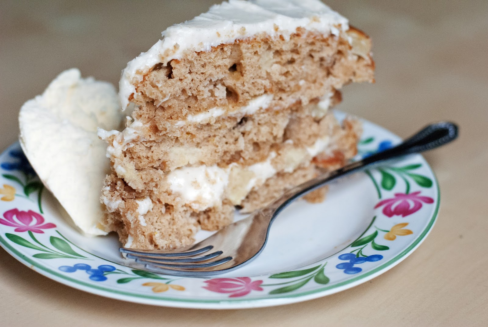 Maple Cake With Brown Butter Apples Recipe — Dishmaps