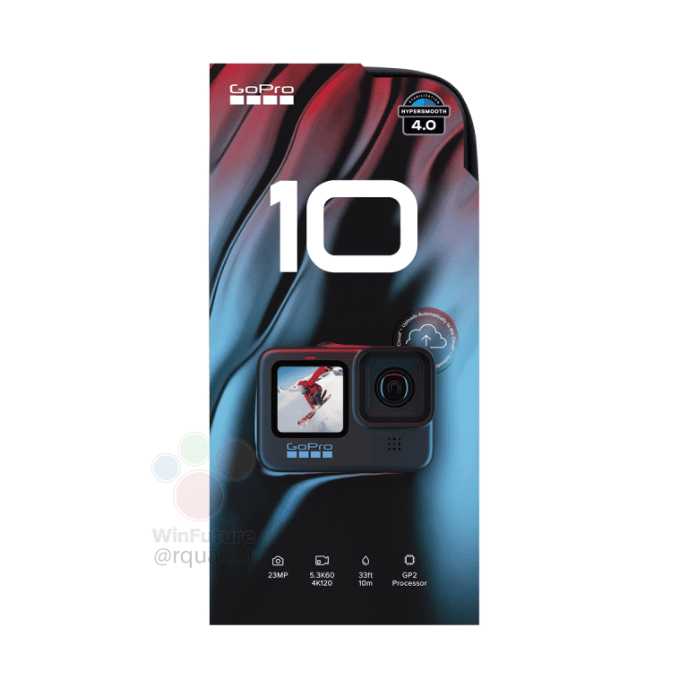 Упаковка GoPro Hero 10
