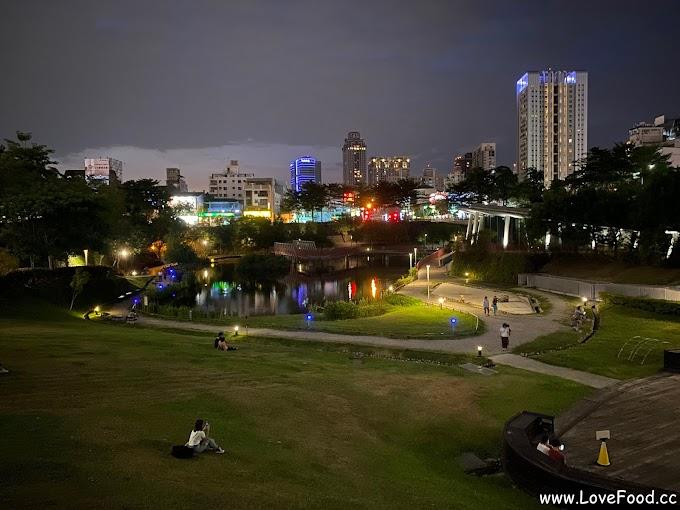 台中西屯-秋紅谷景觀生態公園-白天看生態 晚上看夜景-qiu hong gu