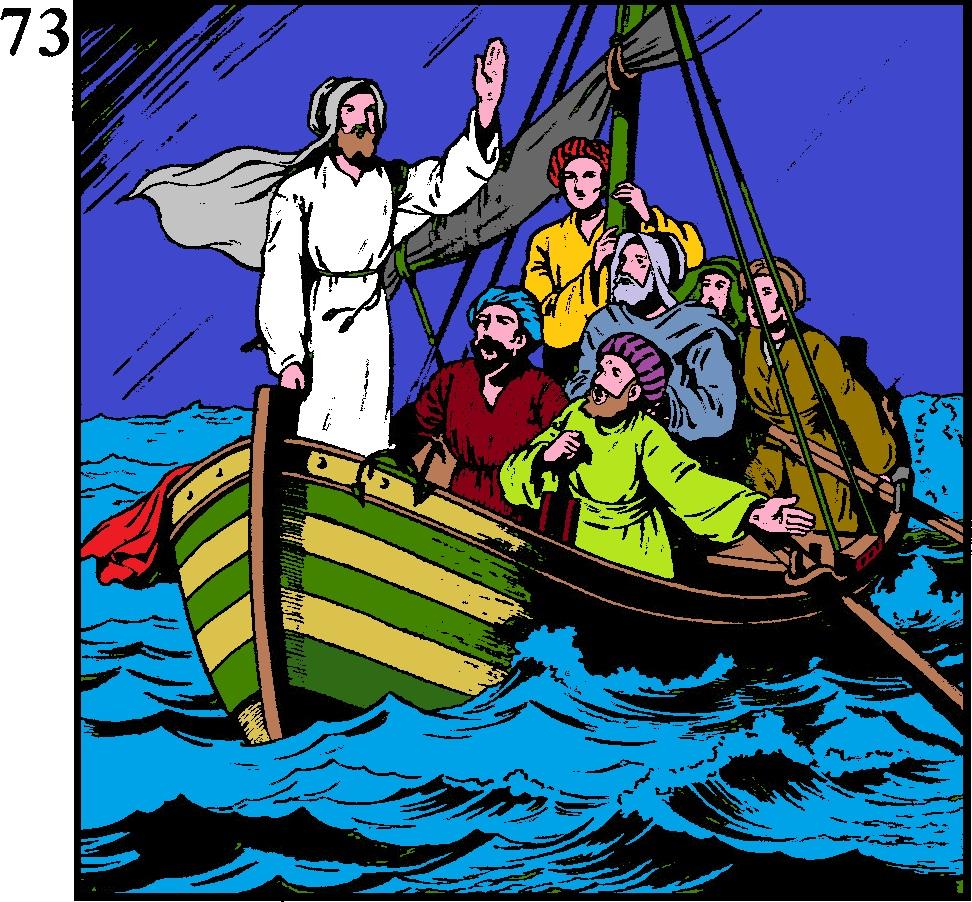 jézus és a látvány)
