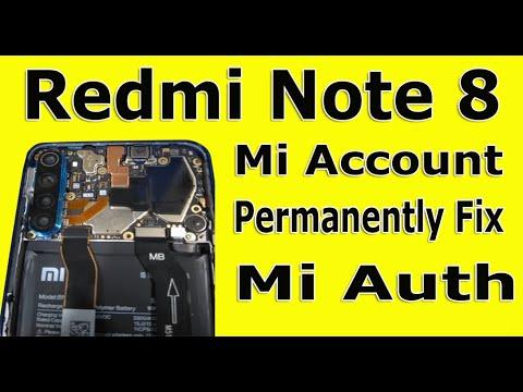 Redmi Note 8 Global remove mi account