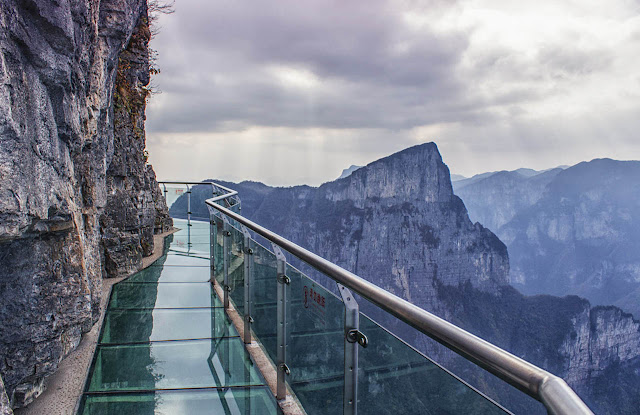 Glass Skywalk Tianmen - China