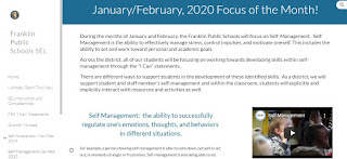 Check out the SEL focus of the month