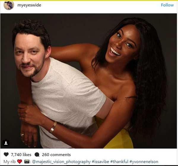 Yvonne Nelson's baby daddy joins in on Berla Mundi shaming?