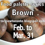 Food palette brown